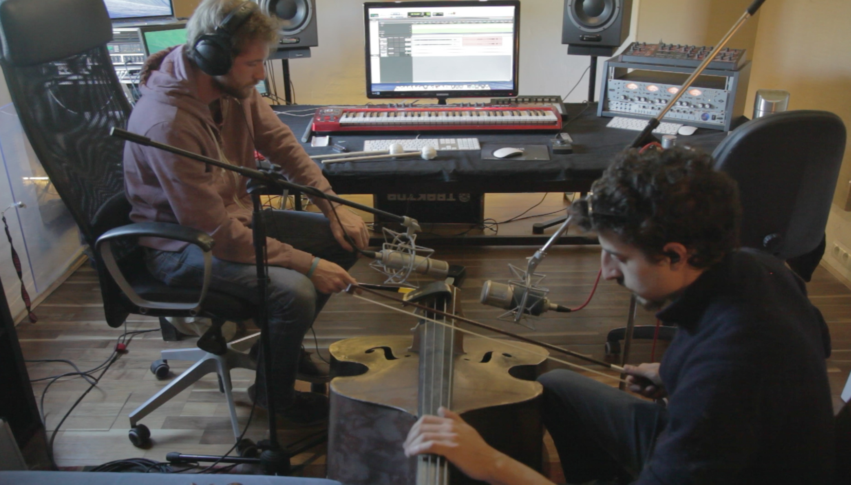 Recording an old upright bass_2
